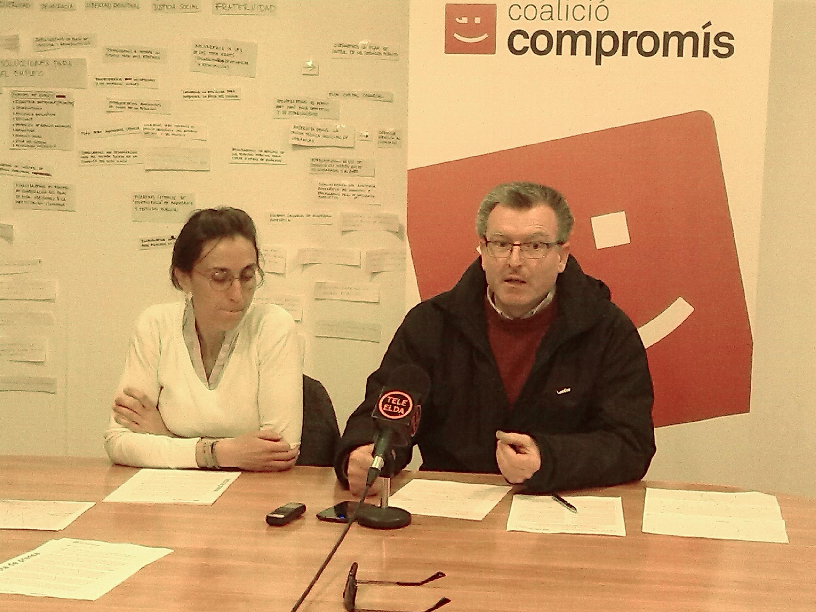 Cristina Rodríguez y Jose Joaquín García